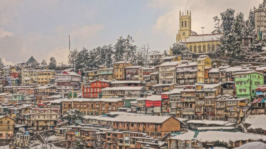 City Market Politics Cityscape No People Sky Day Urban Skyline Politics And Government Architecture Mountain Shimla Himalayas Himachal Outdoors outdoors Lost In The Landscape
