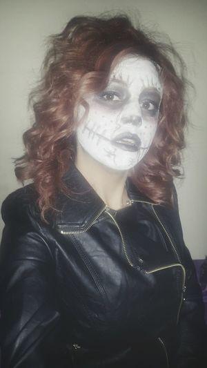 🙈🙉🙊🎃🎃 Happyhalloween Halloweenmakeup Halloween Horrors Makeup Makyaj Halloween