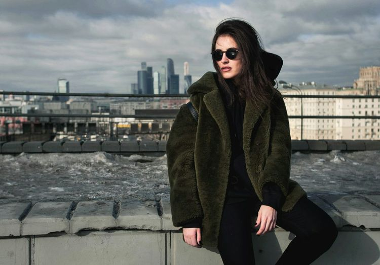 Urbania Winter City Warm Clothing Portrait One Person Cold Temperature Women Young Women Outdoors Day Beautiful Woman Urban Lifestyle Urbanphotography Urban Fashion Shades Urban Style Moscow City Moscow Life Russia City Life Face Real People The City Light Women Around The World BYOPaper!