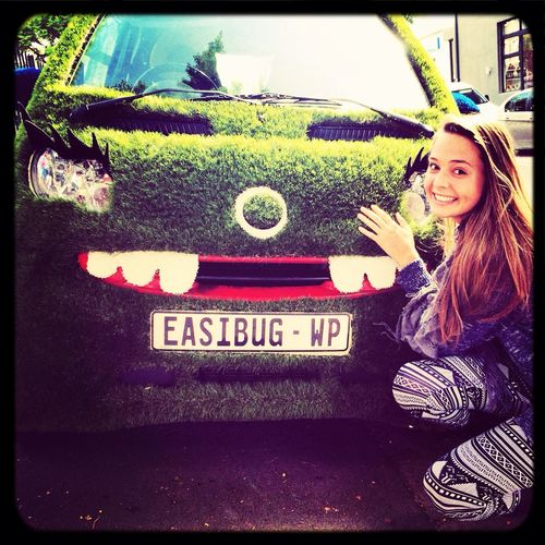 Cutest car ever! ;) Easibug Car Taking Photos That's Me