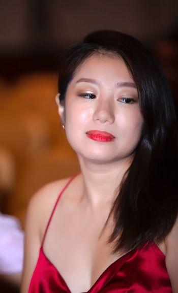 好心情(1) EyeEm Selects Portrait One Person Women Beautiful Woman Young Adult Beauty