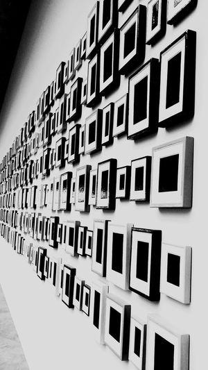 Squareframe Specialdesign Black&white Washington, D. C. Artmuseum Hello World View Adventure Shooting EyeEm