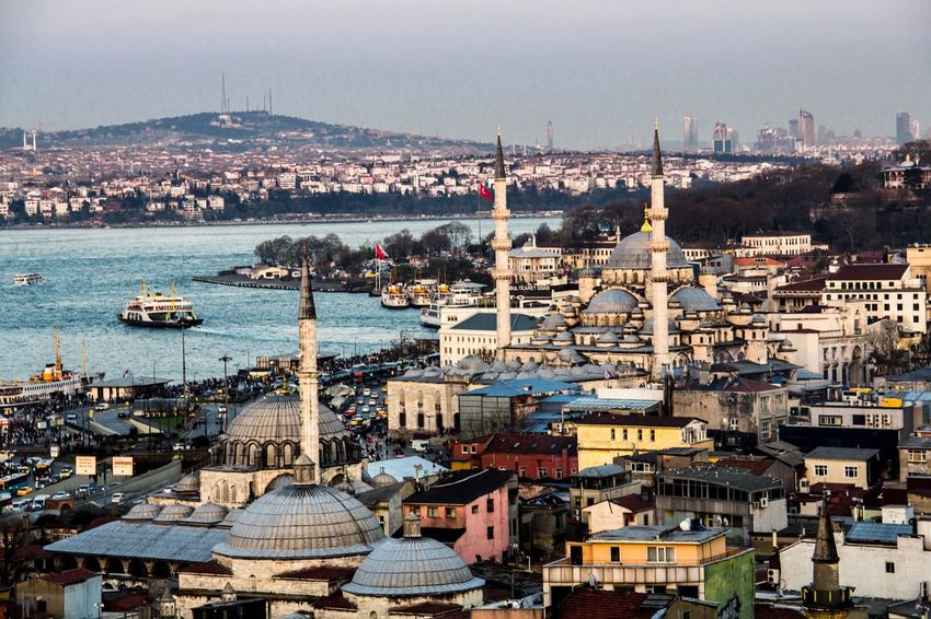 Koskocam bir şehre yukarıdan bakmak Istanbul Turkey Istanbul Istanbuldayasam Traveling Travel Manzara Keyif Keyifli