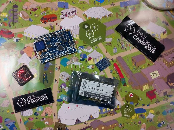Back @Le_Loop Hackerspace after CCCamp for our weekly meet up Cccamp15 Cccamp2015