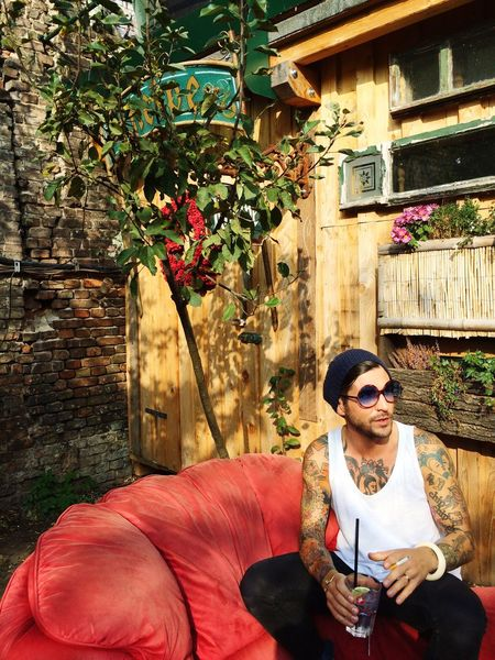 Berlin Berlin Photography Sunglasses Sisyphos Sun First Eyeem Photo Man Tatoo ❤️🎉