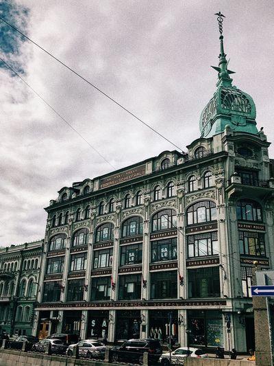 Saint Petersburg (Au Pont Rouge) Architecture Building Exterior Saint Petersburg Streetphotography IPhoneography First Eyeem Photo
