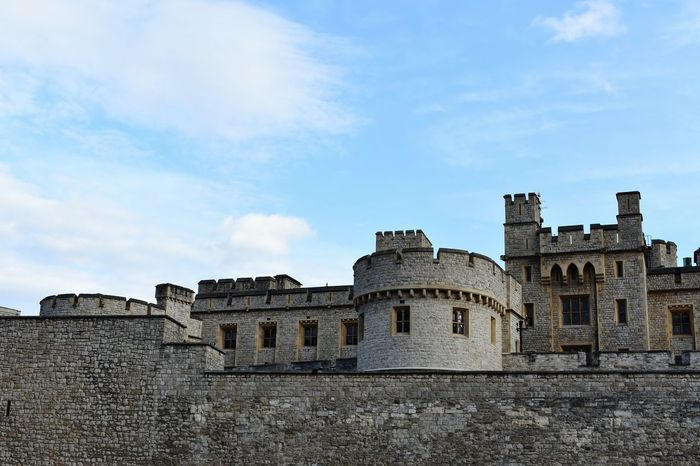 Castle History Architecture Building Exterior Castle Built Structure Fort Travel Destinations Low Angle View Outdoors Day War No People Ancient Civilization News Event Sky
