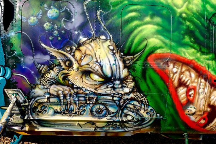 Buchheim Museum Close-up Colorful Day Grafitti Grafitti Art. No People Outdoors