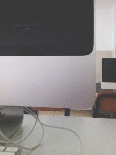 Computer Lab Imac Apple Hello World