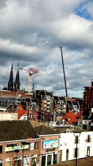 City Skyline Buildings Building Cranes Buildings & Sky Building In Progress Vieuw From My Window The Architect - 2016 EyeEm Awards