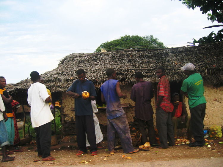 2006 Day Full Length In A Row Large Group Of People Men Outdoors Sky Togetherness Zanzibar