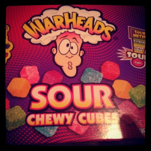 Me vuelvo adicta a estas Gomas Wearheads Sour Cherry candys eeuu friends igersperu