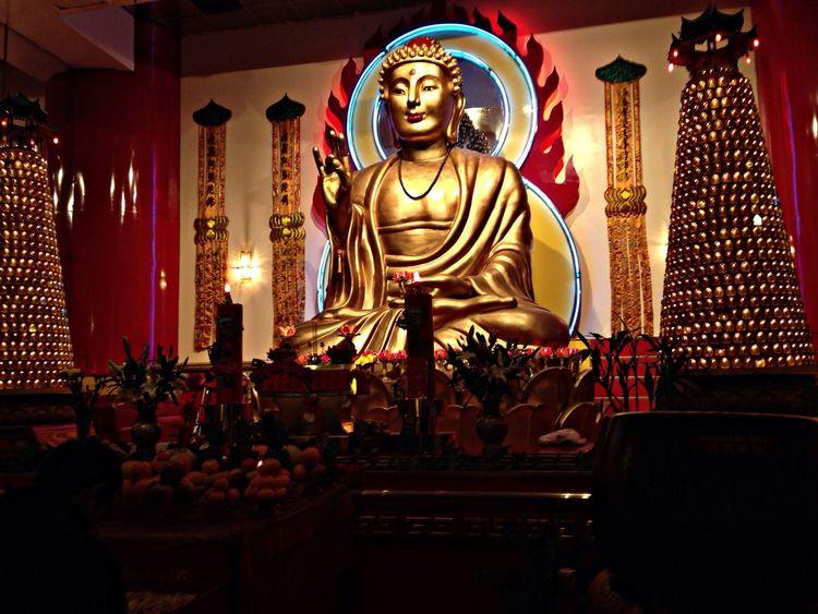 Mahayana buddha temple