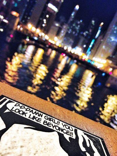 Beyonce Chicago Bridge River