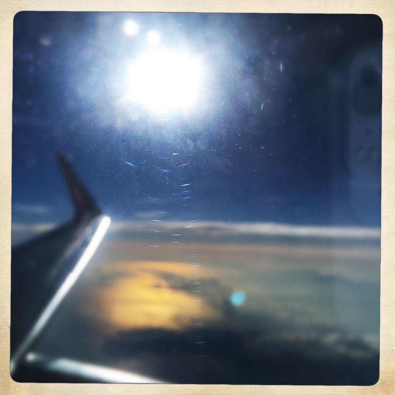 VIEW OF BRIGHT SUN