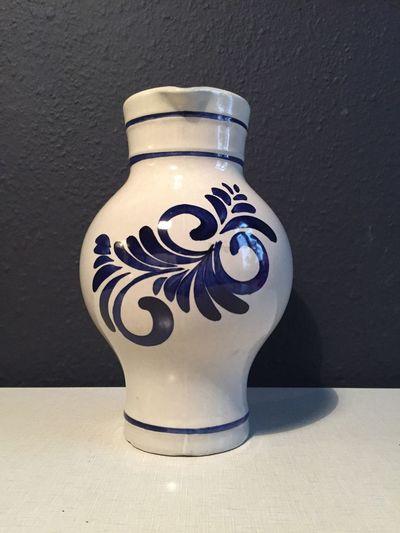 Frankfurter Bembel. Pitcher Krug Frankfurt Frankfurt Am Main Hessen Bembel Single Object Vase Indoors  No People Close-up Day