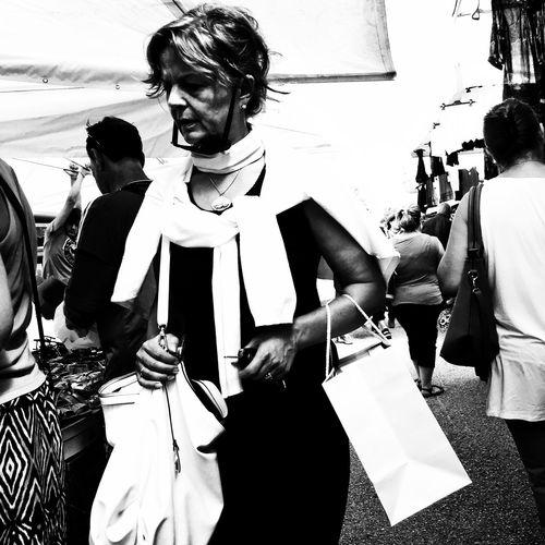 Shopping memories AMPt_community Mobile Artistry Taking Photos NEM Black&white Blackandwhite Streetphotography Street Photography People Watching Urban Lifestyle NEMstreet