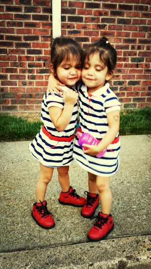 I love them so much.... Stella ❤ and Sophia<3 Twinning