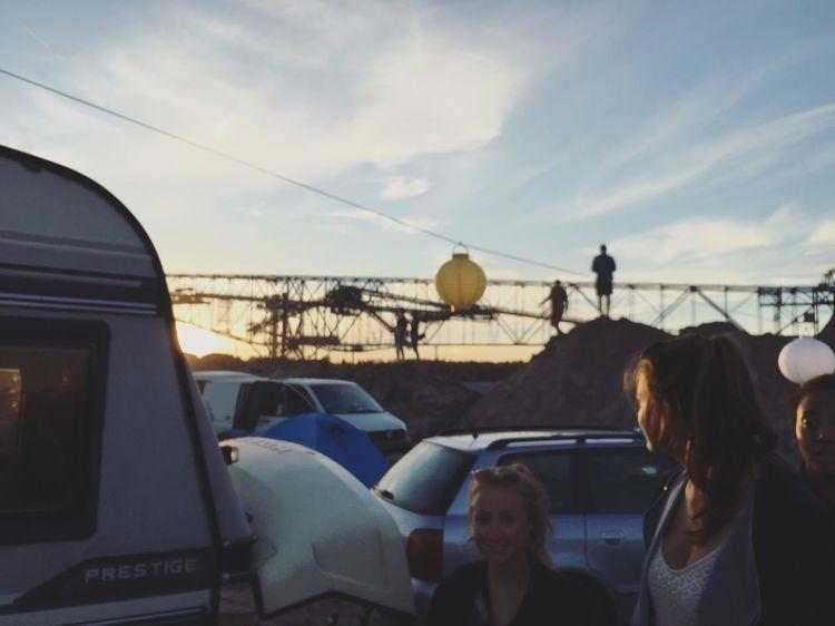 Festival Sundown Sun Camping Campground Musik Feelings