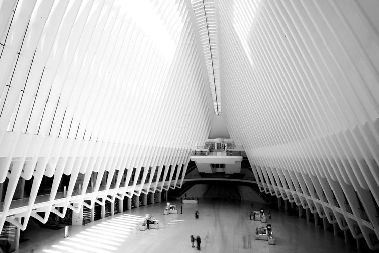 Architecture Architecture B&w Black And White Built Structure Central Day Hall Indoors  Manhattan New York New York City NYC Real People Train Station The Architect - 2017 EyeEm Awards