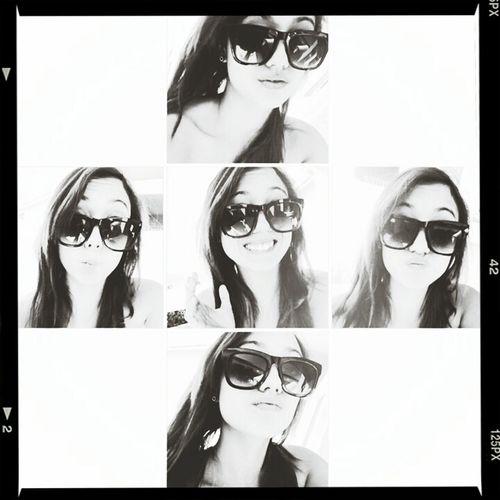 Portrait Self Portrait Sunglasses Silly Nigga