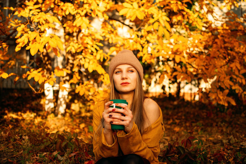 Alone time, some time to yourself, me time for self-care and self-healing. alone young woman