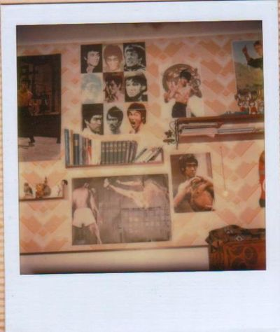 70er Polaroid Bruce Lee Damals