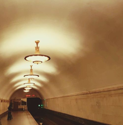 Metro Station Indoor Photography Russia Today Interesting Perspectives Russia Moscow Enjoying The Sights Traveling Undergroundstation