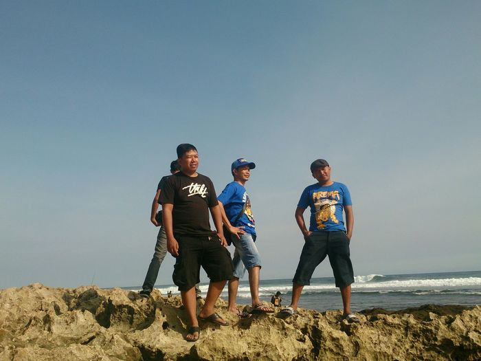 Natural beach jongring saloko malang east java