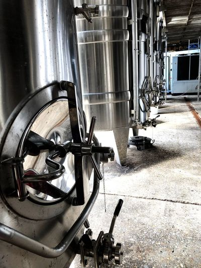 Chrome Wine fermentation tanks Brewery Beer Fermentation Tank Fermentation Tank Distillery Wine No People Sunlight Built Structure Day Fermentation Tank Fermentation Tank Distillery Wine No People Sunlight Built Structure Day