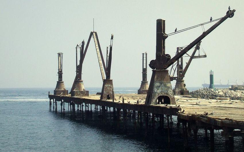 Muelle Histórico Compañía Salitrera Melbourne & Clark - Melbourne & Clark Historic Pier Antofagasta Monuments Sea Walking Around