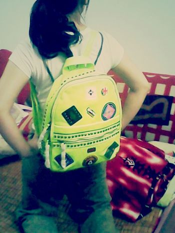 sister and her new bag. Taking Photos Hello World Sisters