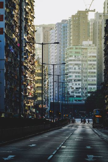 Street Photography Discoverhongkong Architecture City Building Exterior Transportation Built Structure Mode Of Transportation Street Land Vehicle Motor Vehicle City Street Road Car Office Building Exterior No People Direction Nature The Way Forward Building Sign Symbol
