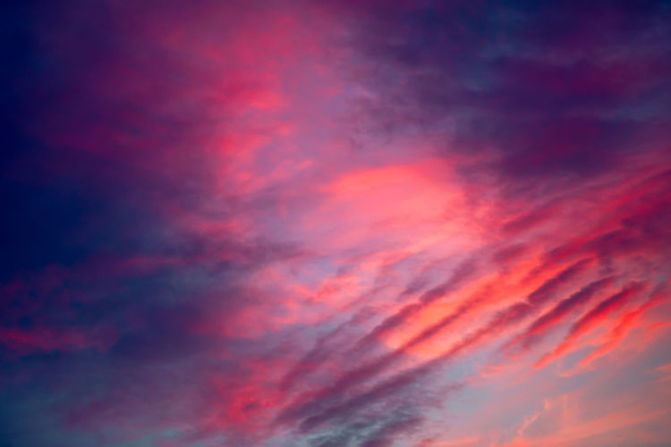Sunset clouds sky background. Blue, purple and red clouds on dramatic sunset sky Sunset Sky Cloud Colorful Dramatic Background Blue Landscape Nature Red Sunrise Bright Pink Purple Beautiful Beauty Color Evening Light Summer Weather View Clouds Cloudscape Dusk Scene Sunlight Amazing Cloudy Heaven Twilight Nightfall Sky Sunset Incredible Gorgeous Environment Atmosphere Scenery Dark Rise Peaceful Sky Dusk Space Awesome Dawn Fluffy Sky Evening Scenic Outdoor The Mobile Photographer - 2019 EyeEm Awards