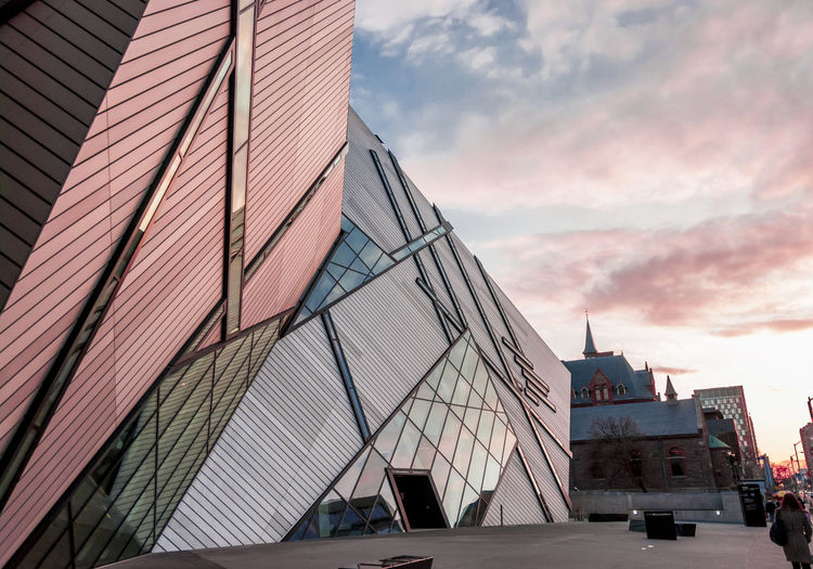 Rom Toronto Architecture Building Exterior Built Structure City Curtainwall  Day No People Outdoors Sky