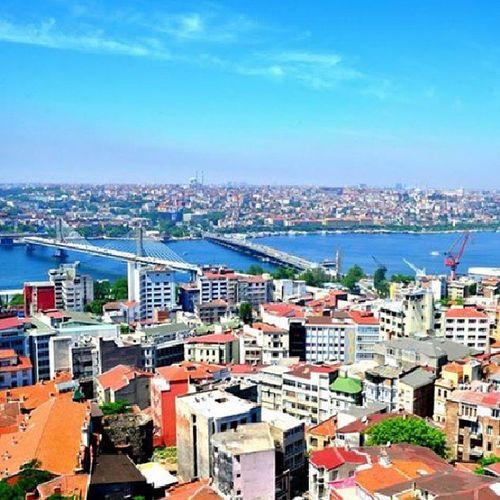 View from Galatatower Istanbul Amazingcity