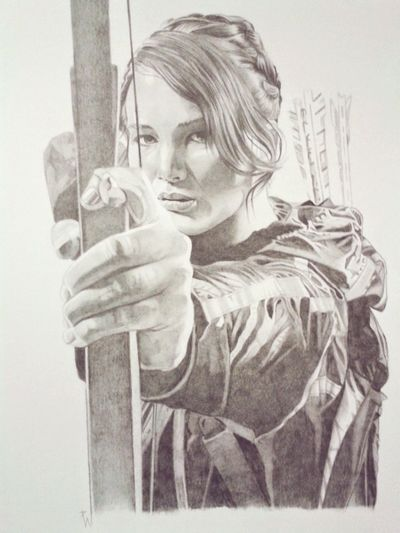Amazing Art Check This Out Art, Drawing, Creativity Art Pencil Portrait Jenniferlawrence Hungergames Thehungergames