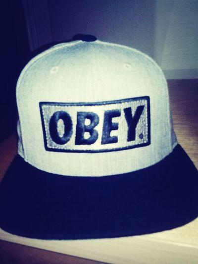 My Obey Snapback