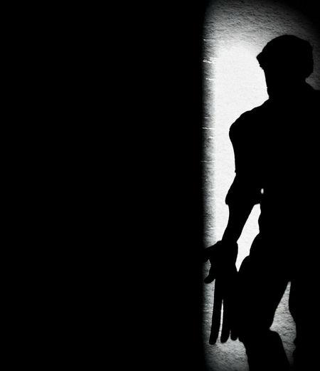 Logan Dark Day Indoors  Logan Marvel Shadow Silhouette Sunlight Wolverine