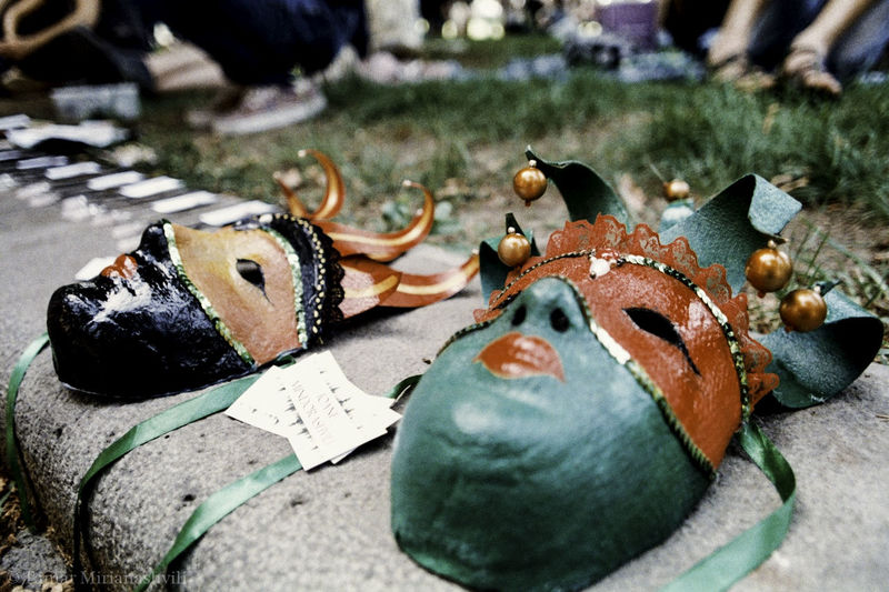 Carnival Masks at Tbilisi Flea Market Analogue Photography Carnival Carnival Mask Carnival Spirit Close-up Colours Film Is Not Dead Fujifilm Funny Faces I Still Shoot Film Masks Masquerade Nikon F3 No People Outdoors Street Photography Venice Carnival Carnival Crowds And Details