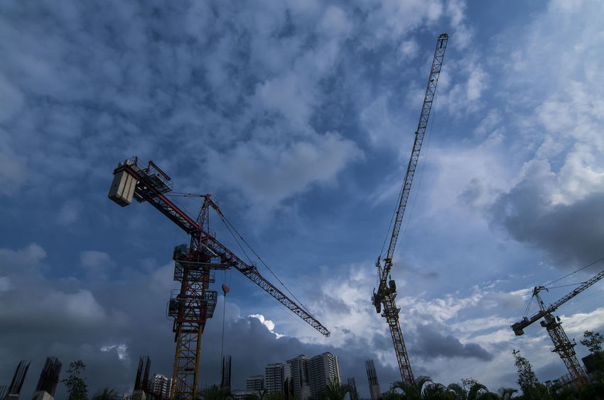Johor Bahru , 6 March 2017 Building With Crane Getting Creative Gettyimages Getty X EyeEm Getty Images Gettyreportage Getty X EyeEm Images Johor Getty+EyeEm Collection Getty Creative Building And Sky Buildings Architecture Architecturephotography Architectural Design Towers And Sky Tower Crane Towers View Tower Bridge🌉 Towercranes ContentCreativeBriefs Contributors Blue Sky VSCO Vscomalaysia