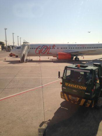 Aviation Voegol Aeroporto Aeroporto Santos Dumont Rio De Janeiro Brazil Brasil Rio