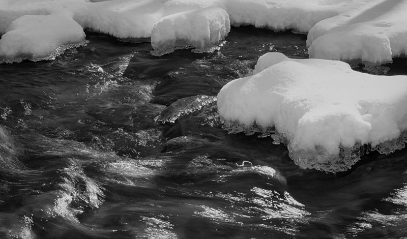 River of ice Outdoor Photography Naturelovers Nature Photography Frozen Nature Frozen Water Pennsylvania Beauty Pennsylvania Long Exposure Creek Snow ❄ Snow Frozen Winter Flowing Water Mountain Creek Mountain Stream Ice Cold Temperature No People Water Nature Wave Outdoors Beauty In Nature Close-up