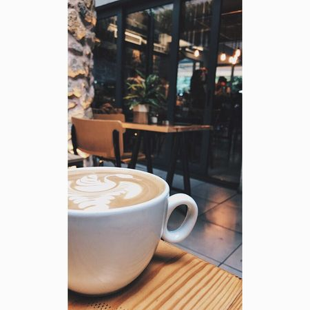 Coffee Coffee Cup Coffee - Drink Refreshment Drink Food And Drink Cappuccino No People Table Close-up Indoors  Latte Froth Art Freshness Day