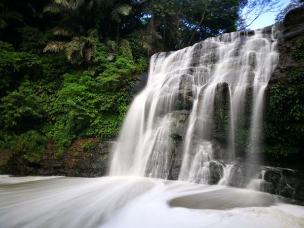 Waterfall Motion Long Exposure Scenics Water Beauty In Nature No People Nature Tree Rapid Outdoors Forest Day Sky