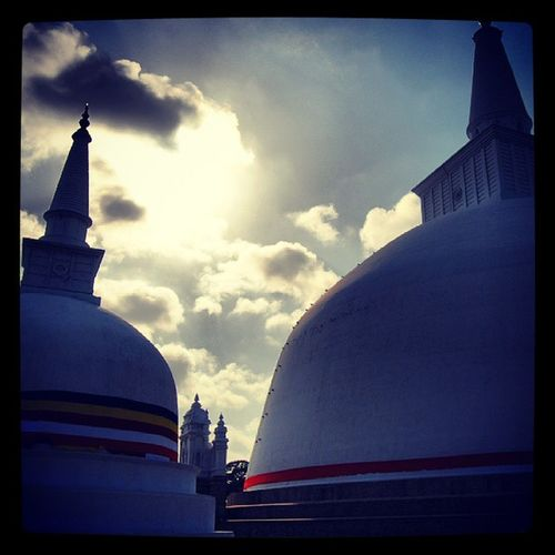 Ruwanwelisaya at Anuradhapura . Travel Best  photo awesome religious