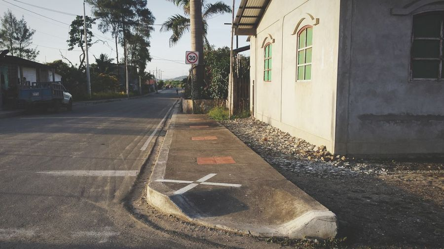 House Street Montañita,Ecuador No People Outdoors
