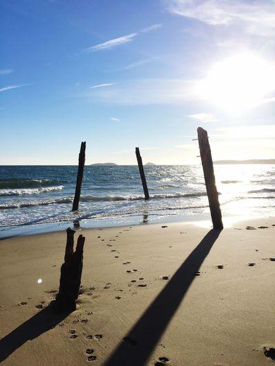 Abersoch Beach Sea Sunlight Scenics