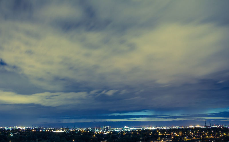 Beauty In Nature Bulb City Cityscape Cloud Clouds And Sky Cloudy Dramatic Sky Enjoying The View EyeEm Gallery Illuminated Nature Night No People Outdoors Scenics Sky Taking Pictures