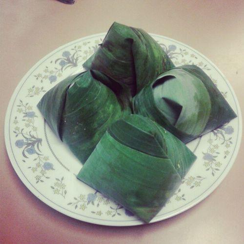 Good morning with nasi lemak. Malaysia Food Nasilemak